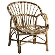 banquette rotin vintage fauteuil en rotin vintage brin d u0027ouest
