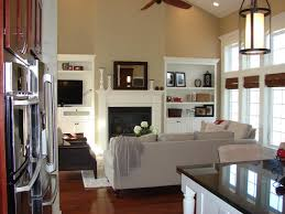 living room half vaulted ceiling living room small kitchen