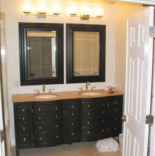 bathroom sink design ideas bathroom vanity design ideas with double rectangle mirror below
