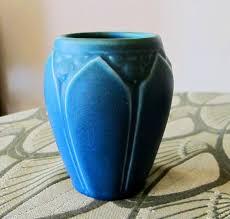 Rookwood Vase Value Rookwood Blue Green Matte Glaze Art Pottery Vase By Studioboheme