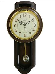 buy maple u0027s traditional plastic wall clock with pendulum online at