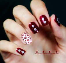 simple christmas nail art ideas cute simple acrylic nail designs