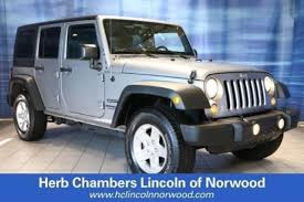 used jeep wrangler for sale in ma used jeep wrangler for sale in norwood ma edmunds