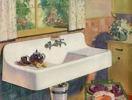Porcelain Kitchen Sinks by 57 Best Double Drainboard Sinks Images On Pinterest Vintage