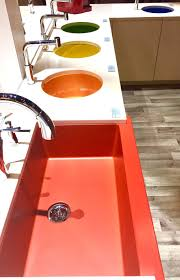 kitchen and bath trends at kbis 2017 sinks and faucets u2014 designed
