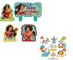 amazon com elena of avalor birthday cake cupcake candles 4