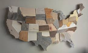 wooden usa map wall thempfa org