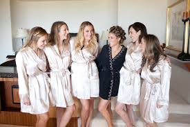 and bridesmaid robes bridesmaid robes 5 of the cutest getting ready styles inside