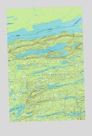 minnesota topographic map gunflint lake mn topographic map topoquest