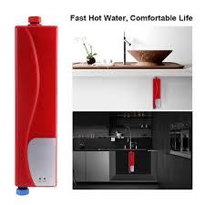 chauffe eau cuisine 220v 3000w mini chauffe eau électrique instantané lavage cuisine