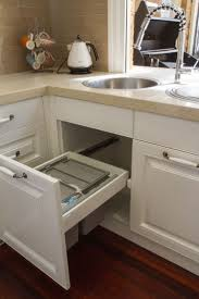 pull out kitchen cabinet uncategories small pull out trash can pull out trash can with