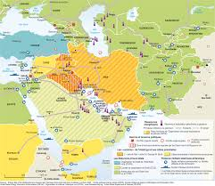 Middle East Political Map by Reshaping The Middle East