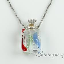 ashes necklace vials for ashes essential diffuser necklaces small wish bottle