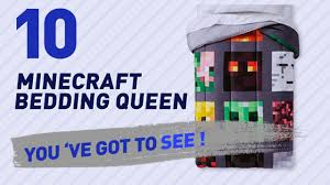 Minecraft Bed Linen - minecraft bedding queen collection trending searches 2017 youtube