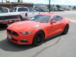 2015 gt mustang for sale orange ford mustang for sale in