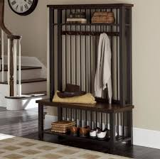 entryway bench with shoe storage and coat rack militariart com