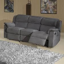 canapé relax 2 places tissu canape relax tissus 3 places maison design hosnya com