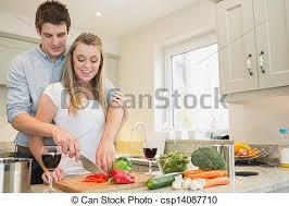 femme en cuisine femme cuisine homme femme homme cuisine ensemble