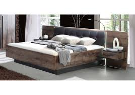 Schlafzimmer Set Mit Led Beleuchtung Schlafzimmer Set Mit Bett 180 X 200 Cm Schwarzeiche Woody 77 00741