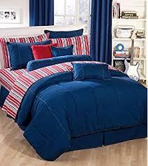 Corvette Comforter Set Amazon Com American Denim Full Comforter Only Home U0026 Kitchen