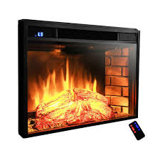 akdy ak ef0528 28 in electric fireplace insert freestanding 3d