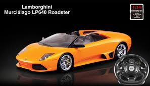 rc lamborghini murcielago licensed 1 14th scale lamborghini muielago lp640 roadster ready to