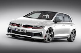 white volkswagen gti new vw golf gti mk8 on sale in 2019 with big power boost auto