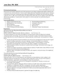 Resume Sample Quick Learner by Icu Resume Free Resume Example And Writing Download