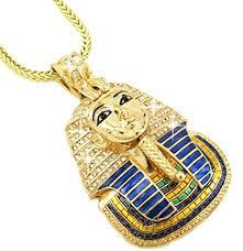 hip hop necklace pendants images Hip hop bling glod tone king tut pharaoh pendant jpg