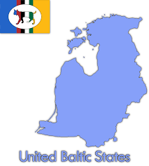 Baltic States Map United Baltic States By Intrepidtee On Deviantart