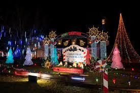 Heritage Park Christmas Lights Trail Of Holiday Lights U2013 Holiday Light Displays Arkansas Christmas