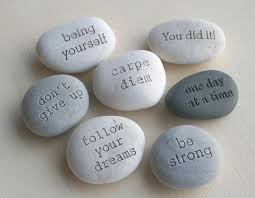 engraved stones personalized garden stones canada home outdoor decoration