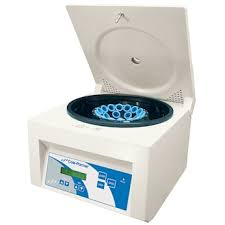 Table Top Centrifuge by Cole Parmer 24 Place Fixed Angle Rotor Centrifuge 220v From Cole