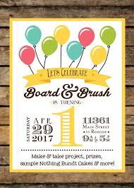 board brush birthday celebration roscoe board and brush