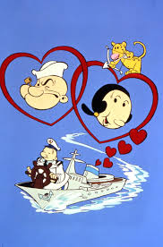 popeye the sailor the popeye valentine special sweethearts at sea popeye the