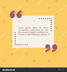 quote blank template design elements circle stock vector 391105156