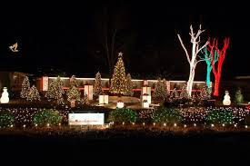 White Christmas Lights Decorations by Top 10 Biggest Outdoor Christmas Lights House Decorations Digsdigs