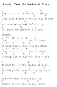 angels from the realms of glory christmas carols lyrics and