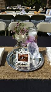 Picture Frame Centerpieces by Mariana U0027s Baptism Centerpiece So Easy And Cheap Dollar Tree