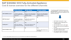 sap s 4hana 1610 fully activated appliance create your sap s