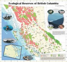 Map Of Bc Map Of Ecological Reserves Friends Of Ecological Reserves