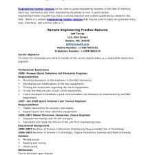 sle resume for freshers resume format for chemical engineer paso evolist co