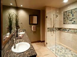 Bathroom Tile Ideas On A Budget Remodeled Bathrooms Plans On A Budget With Tiled Walls Home