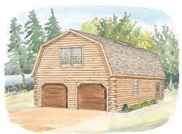 log u0026 timber home design center 24x24 studio gambrel garage details