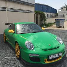 green porsche 911 green u0026 yellow porsche 911 gt3 rs madwhips