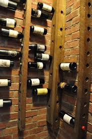 rustic wine cabinets furniture wall mounted wine rack space saving wine cellar storage furniture