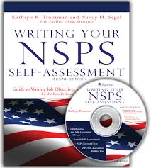What Are Some Good Career Objectives 2nd Edition Writing Your Nsps Self Assessment Guide To Writing