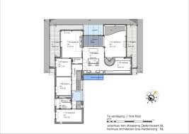 Classic Colonial Floor Plans by Hamhuis Architecten Unite Colonial Style With Modern Living