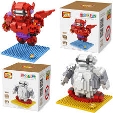 loz diamond blocks aliexpress buy loz diamond block big 6 baymax minions