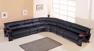 Contemporary Black Leather Sofa Sectional Sofa Cool Black Leather Sectional Sofa For Sale